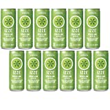 IZZE Fortified Sparkling Juice, Apple, 8.4-Ounce Cans (Pack of 12)