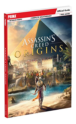 Assassin's Creed Origins: Prima Official Guide cover