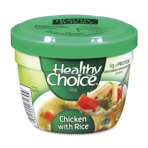 Healthy Choice Soup Cups, Chicken with Rice, 14 oz., 12/CT (17170) by ConAgra Foods, Inc