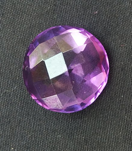 8.90Cts. Natural Amethyst Round Shape AAA Quality 13.5x13.5 mm Faceted Gemstone.