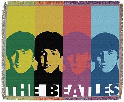 Beatles Throw Blanket