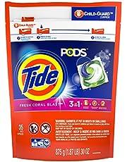 Tide Pods Detergent Pacs, Coral Blast Scent, 35 Count