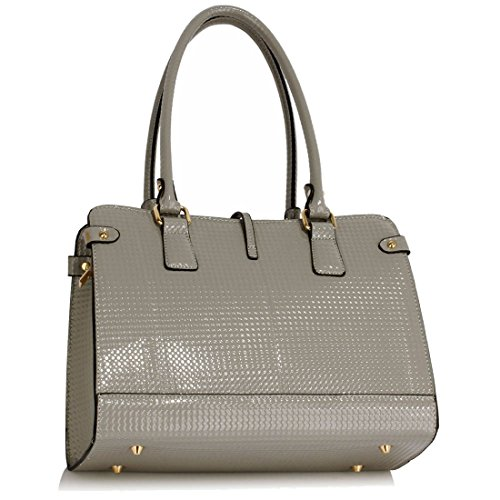 Handbag SAVE Grab Grey Gorgeous FREE DELIVERY UK Shoulder 50 SpAznwqg