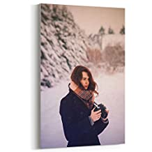 Westlake Art - Woman Female - 5x7 Canvas Print Wall Art - Canvas Stretched Gallery Wrap Modern Picture Photography Artwork - Ready to Hang 5x7 Inch