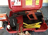 Hilti DX A41 Powder Actuated Nail Nailer & Stud Gun with Case & Accessories
