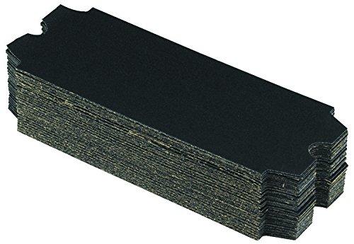 Marshalltown 809 Die-Cut Drywall Sanding Paper, 11-1/4 in x 4-3/16 in, 80 Grit