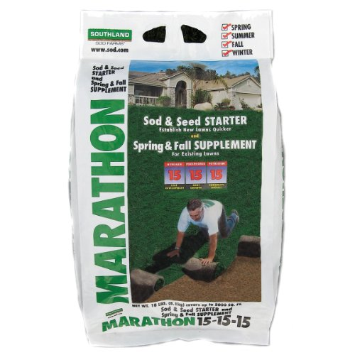 Southland Sod Farms 21 Sod and Seed Starter 15-15-15, 18-Pound (Best Fertilizer For New Sod)