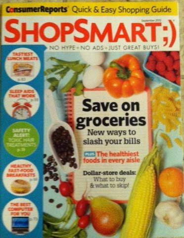 Download Shop Smart September 2012 (Save on Groceries) ebook