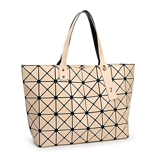 Shoulder Folding Rubik's Folding Rubik's Bag Beige Handbag Cube Girdle nTYSTqwH