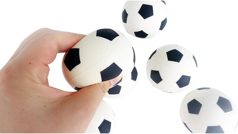 Leisial™ 6pcs Juguete para Niños Mini Fútbol Espuma Mesa Futbolín ...