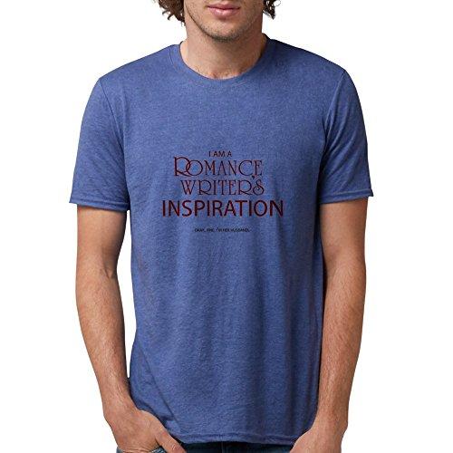 CafePress - Romance Writer's Husband T-Shirt - Mens Tri-blend T-Shirt