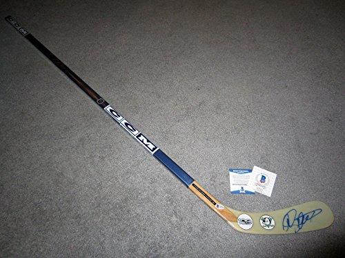 Autographed Teemu Selanne Hockey Stick - Mighty COA NHL 100 - Beckett Authentication - Autographed NHL Sticks