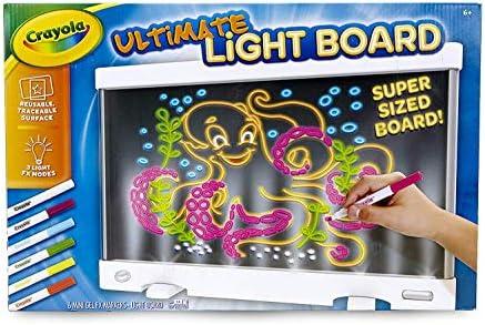 Crayola 74-7245-0-000 Ultimate Light Board pizarrón blanco: Amazon.es: Bricolaje y herramientas