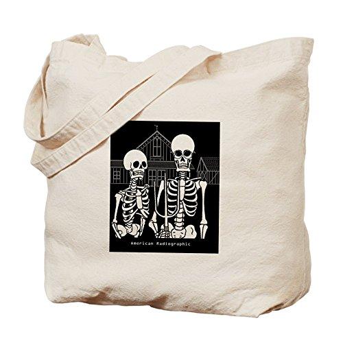 CafePress–American radiografici–Borsa di tela naturale, panno borsa per la spesa