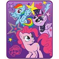 "Franco My Little Pony 'Starry Sky' Silk Touch Throw 40"" x 50"" Blanket"
