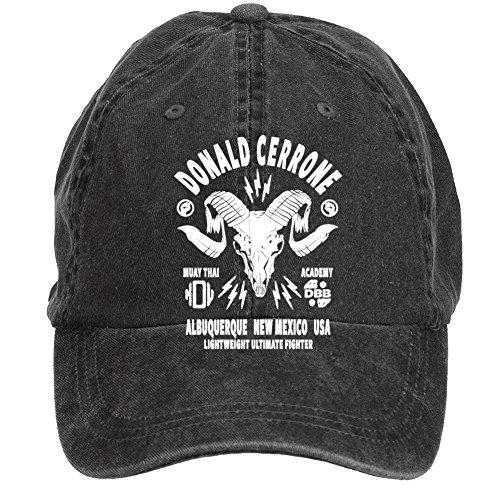 Tommery Unisex Donald Cerrone Design Hip Hop Baseball Caps (Halloween Mike Myers Death)