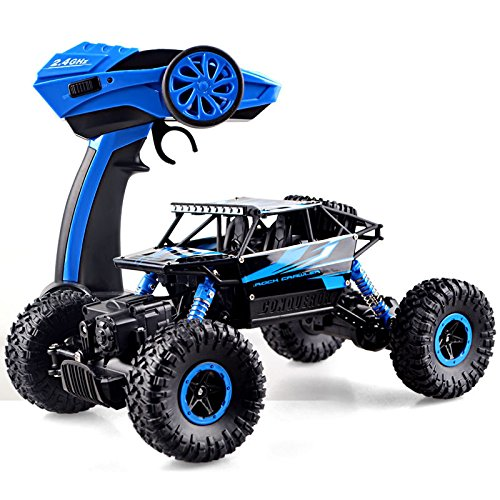 2.4Ghz Remote control RC Rock Crawler 4WD Monster Car Truck Off-Road Vehicle Toy (Rc Boats Gas Fast 100 Mph compare prices)