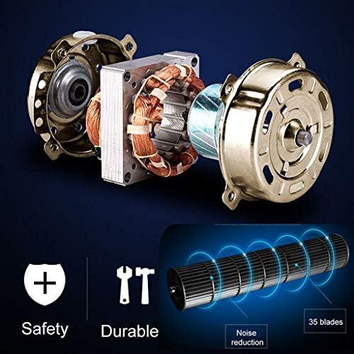 Torm Fan Huishoudtorenventilator, oscillerende koeling, stil met afstandsbediening en 7,5 uur timer, binnenventilator 3 versnellingen, Office, goud m0zT7Wn5