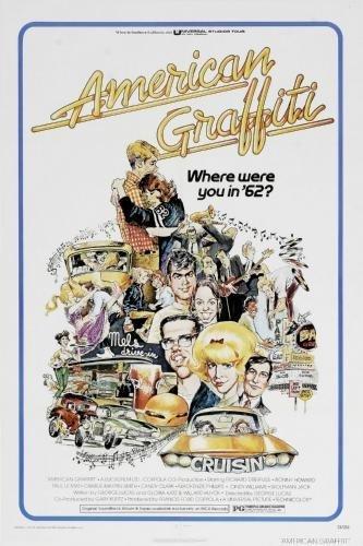 American Graffiti Movie Poster 11x17 Master Print