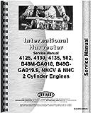 International Harvester Cub Cadet 982 Lawn & Garden Tractor Engine Service Manual
