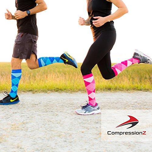 5f7063e1250 Compression Socks for Men   Women - 30-40 mmHg Graduated Compression -  Medical Grade