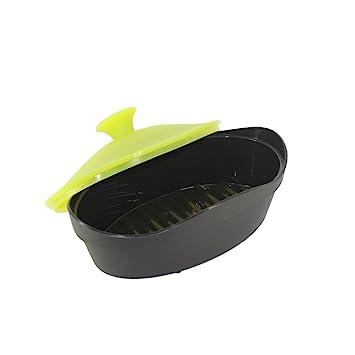 Pescado para microondas para cocinar al vapor de silicona, nacola ...