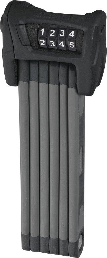 Wenn schon kein Bügelschloss, dann setzen Sie auf ein sicheres Faltschloss (z.B. das ABUS Faltschloss).
