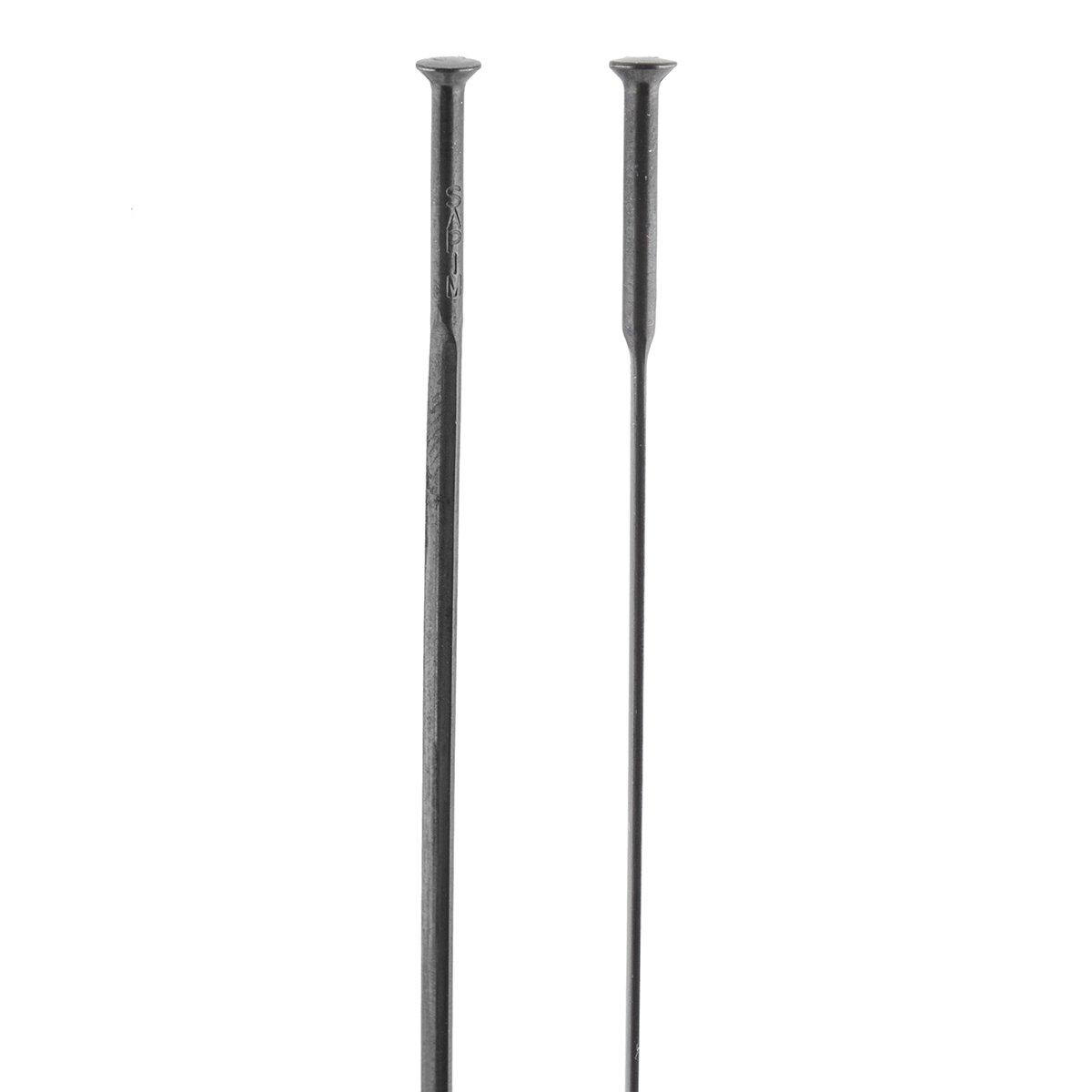 SAP1048 GEDL1428200 ZO Sapim Spoke Bulk Cxray Straight Pull Black Bladed 282