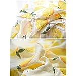 Bamboo-Muslin-Swaddle-Square-Blankets-2-Pack-47×47-Rose-Lemon-Print-Baby-Receiving-Blanket-Wrap-for-Girl-Shower-Gift-by-Qav-Juh-Rose-Lemon