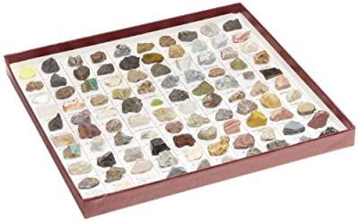 American Educational The U.S. Mounted Rocks and Minerals Collection (Pack of 100) from American Educational