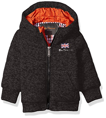 Ben Sherman Baby Boys Fashion Outerwear Jacket (More Styles Available), Heather Charcoal,...