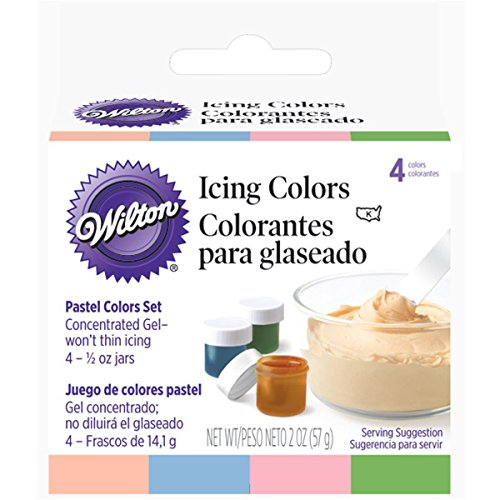 Wilton Pastel 4-Piece Icing Color (Wilton Pastel)