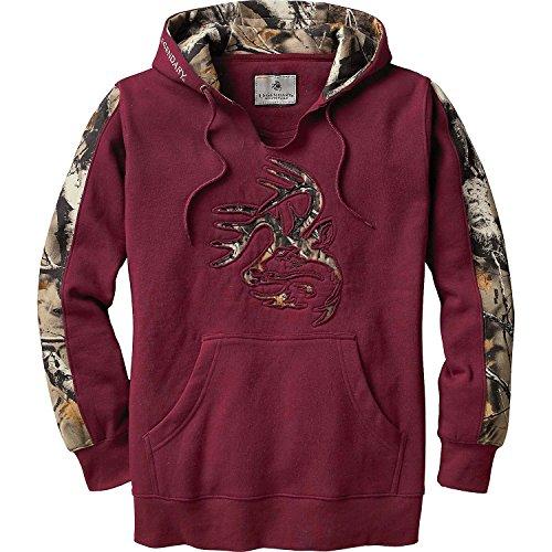 Hoody Maroon Sweatshirt (Legendary Whitetails Ladies Outfitter Hoodie Rusty Maroon Medium)
