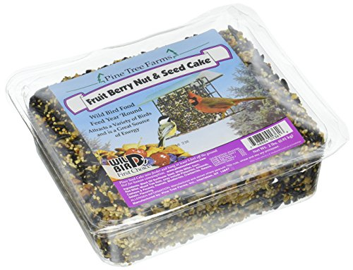Pine Tree 1361 Fruit Berry Nut and Seed Cake, 2-Pound