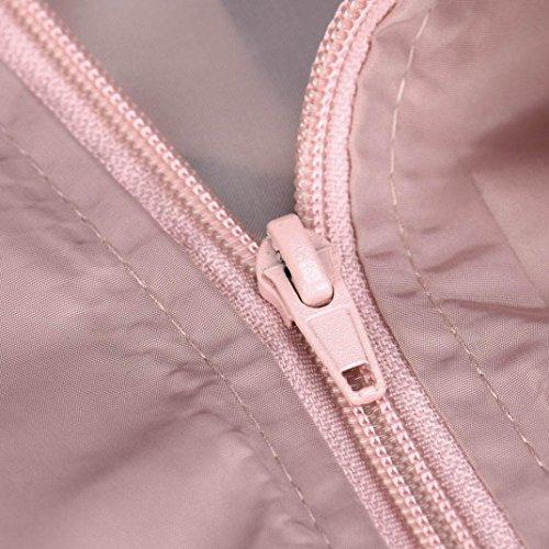 Impression Court Mode Nouvelles Manteau de Femme Biker Reaso Rose Blouson Mots Bomber Jacket Mince Veste Moto Souple Zipper nx0WgaW