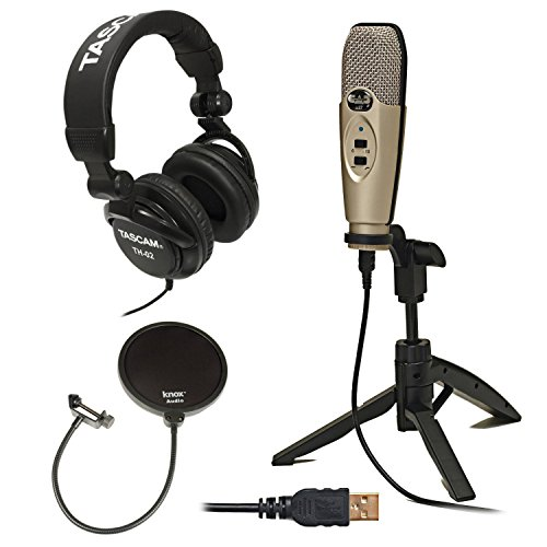 Condenser Recording Microphone Full Size Headphones product image