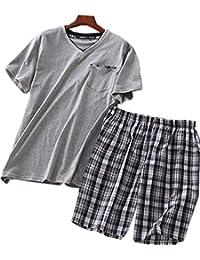 Men's Cotton Soft Sleepwear/Short Sets/Pajamas Set SY227
