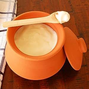 Amazon.com: Ancient Cookware Indian Clay Yogurt Pot