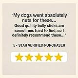 Cadet Bully Sticks Dog Treats, 12 Ounce
