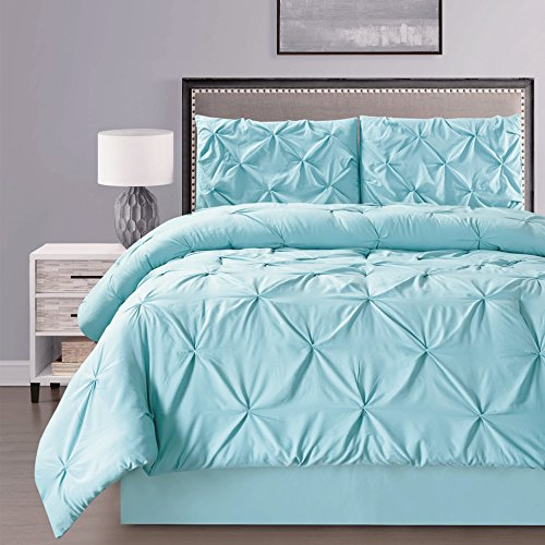light blue and coral bedding - 1
