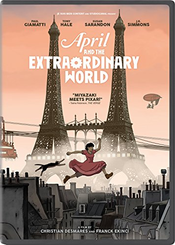 April and the Extraordinary World (April Dvd)