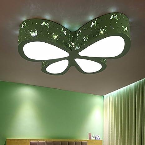 Dormitorio remoto luz luz de techo de mariposas habitación ...