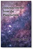 Announcements from the Planetarium