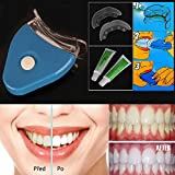 Ak 2015 White LED Light Teeth Whitening Tooth Gel Whitener Health Oral Care Toothpaste Kit for Personal Dental Care Healthy