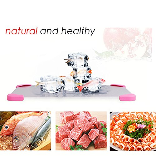 Kangkang@ Household Kitchen Repid Thaw Plate Fast Frozen Food Thawing Board Plate Defrost Tray For Meat Fish Beef Chicken Kitchen Gadgets by Kangkang (Image #1)