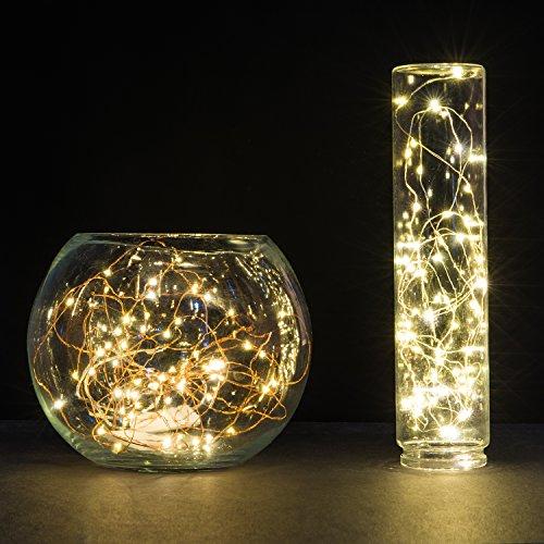 huge selection of f4781 8c957 String Lights, Oak Leaf Micro 30 LEDs Super Bright Wire Rope ...