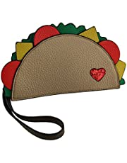 Taco Bout Love Food Friendly Taco Shaped Purse w/Removable Wrist Strap
