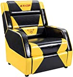Homall Gaming Recliner Chair Living Room Sofa Single Computer Recliner PU Leather Recliner Seat Home Theater Seating with Removable Cushions Sracer
