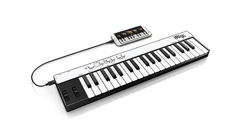 ... tamaño completo tecla del teclado móvil universal con conector relámpago para el iPhone, iPad, iPod touch, Mac y PC: Amazon.es: Instrumentos musicales