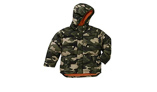 642c625c0 Amazon.com: Healthtex Infant Boys Green Camouflage Coat Winter Puffer Jacket  24 Months: Clothing